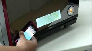 スマートフォンでパナソニック「NE-R3500」の調理設定をやってみた