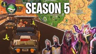 Fortnite Season 5 (Golf Kart, Mario Kart, & New Map Funny Moments)