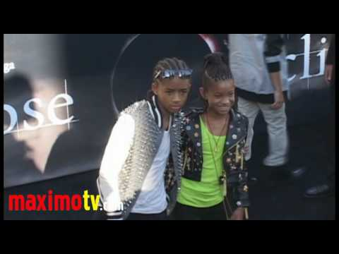 Jaden Smith and Willow Smith ECLIPSE Premiere