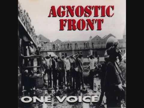 Imagem da capa da música One voice de Agnostic front