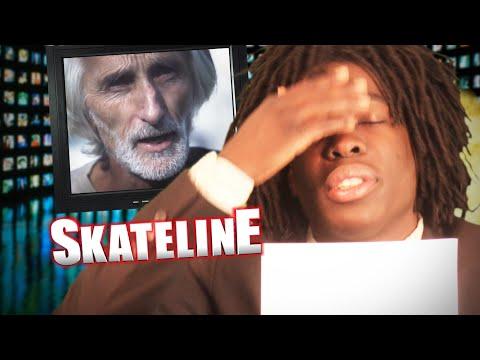 SKATELINE - Viral Video Special w/ Bush Man, Cats Skating, Jamal Smith Trick Tip, Girl Falls & more