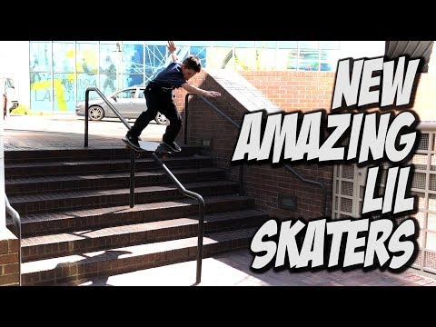 NEW AMAZING LIL KIDS SKATE DTLA AND MORE !!! - NKA VIDS -