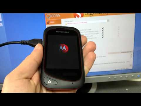 Motorola EX132 unlock with SigmaKey