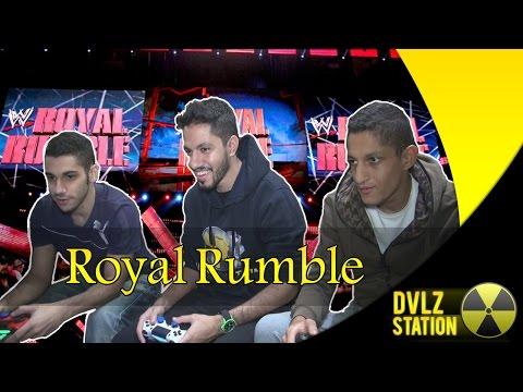 الثلاثي المرح يلعب Royal Rumble video