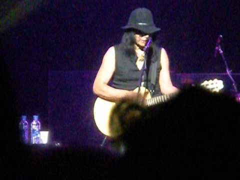 Rodriguez performs Sugar Man at the Hammersmith Apollo in London 2013