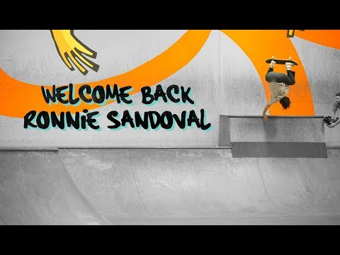 Ronnie Sandoval - Welcome Back!