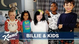 "Billie Eilish Asks Kids ""When We Fall Asleep Where Do We Go?"""