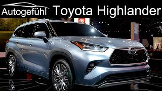 All-new Toyota Highlander 2020 Exterior Interior Premiere - Autogefühl