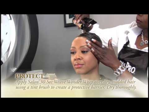 Salon Pro 30 Sec - Weave Wonder Wrap - Weave & Extension Kit Instructional Video