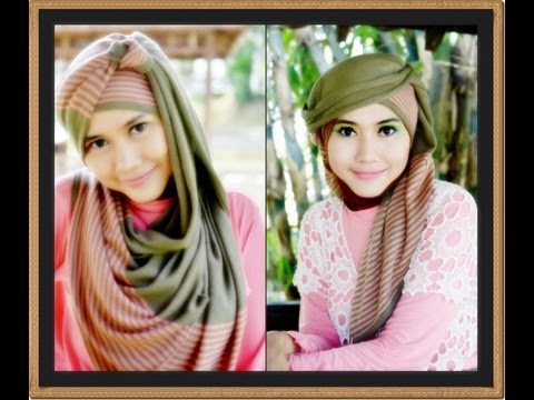 Jilbab Modern Tutorial | 2 of 9 Hijab Tutorial: DLS Series by Didowardah - Part #3
