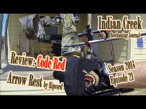 Review: Code Red Arrow Rest by Ripcord Super Slow Mo (NAP Apache) ICBJ Season 2014 Episode 20