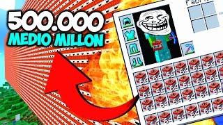 500.000 MEDIO MILLON DE DINAMITAS ROMPEN MINECRAFT | SURVILAND 3 EP.248 MINECRAFT SERIE 1.10