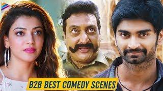 Latest Non Stop Best Comedy Scenes | Kajal Aggarwal | Atharvaa | Prudhvi Raj | 2019 Telugu Movies