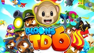 HERO MONKEYS!!!! | BLOONS TD 6 | Fan Choice Friday