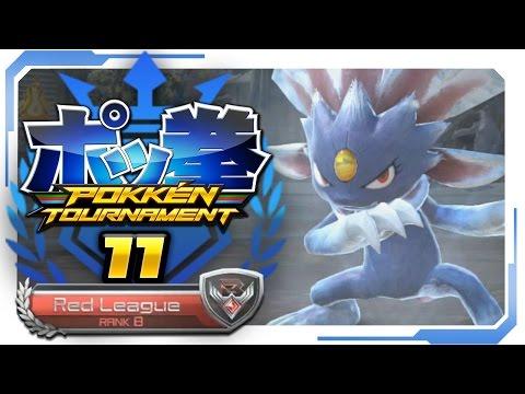 Pokken Tournament - Part 11   Weavile Used Night Slash!  [Wii U English Gameplay]