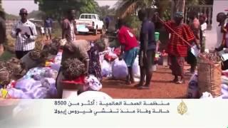 تباطؤ في تفشي فيروس إيبولا بغرب أفريقيا