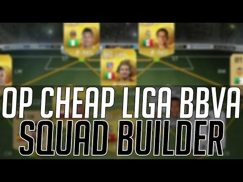 THE BEST CHEAP OVERPOWERED LIGA BBVA SQUAD (20K)   FIFA 15 Ultimate Team Squad Builder (FUT 15)