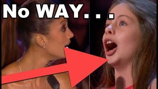 No WAY! 10 Y. O. Little Girl SHOCKS EVERYONE!