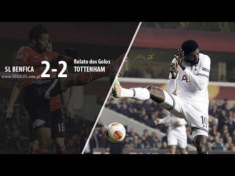 Benfica 2-2 Tottenham - Relato