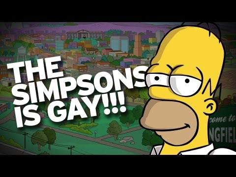 Simpsons Helped Pave the Way for Gay Acceptance