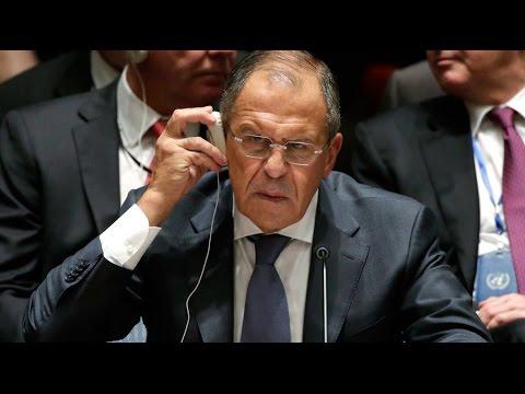 Lavrov addresses UN development summit