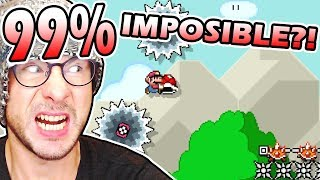99% IMPOSIBLE#1 by ZetaSSJ (0.17% Completion Rate) ~ Super Mario Maker