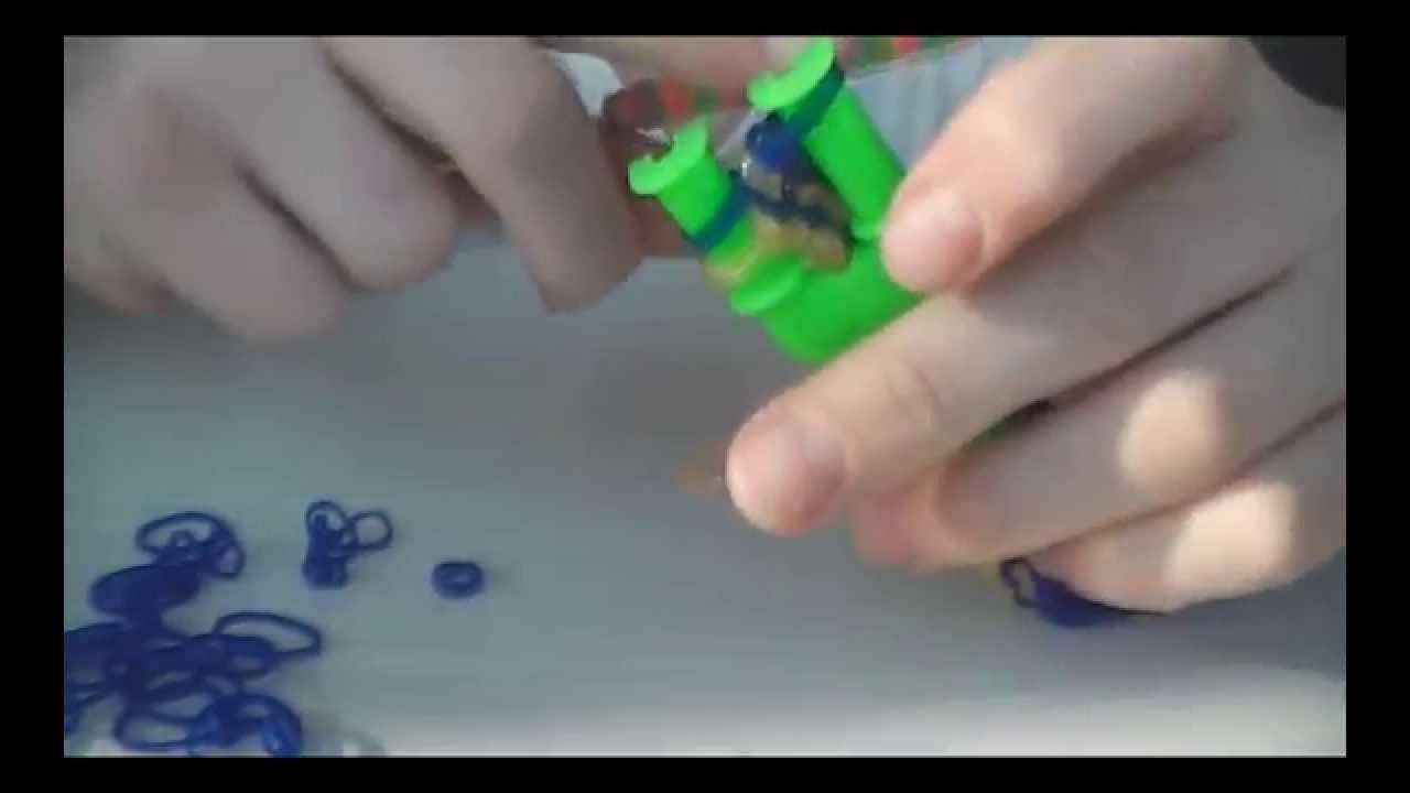 Резинки для плетения браслета тротуар видео - Как сделать браслеты из резинок на рогатке - Видео