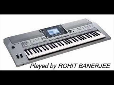 Yamaha PSR S710-Boro Asha Kore ( Rabindra Sangeet )