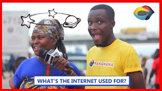 What's the INTERNET used for? | Street Quiz | Funny Videos | Funny African Videos | African Comedy