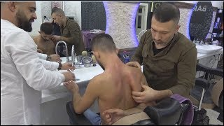 ASMR Turkish Barber Face,Head and Body Massage 212 💆‍♂️💈
