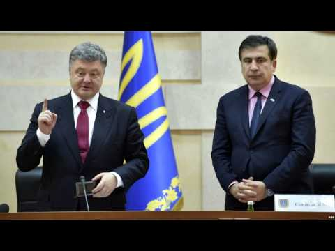 Fascist Mikheil Saakashvili becomes Governor of Ukraine's Odessa Oblast