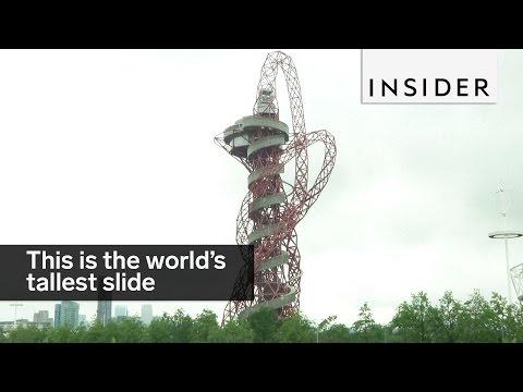 世界で最も高くて最も長いスライダー「ザ・スライド」がヤバイ!