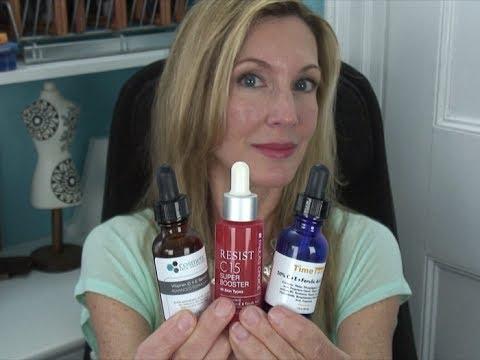 Vitamin C Serum Comparison ~ Timeless. Paula's Choice. Cosmetic Skin Solutions