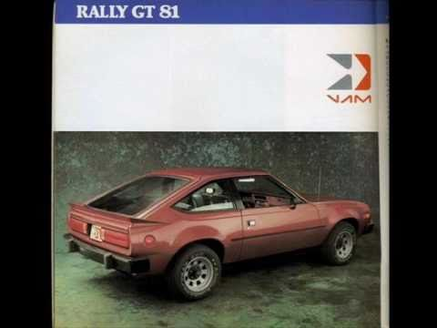 VAM RAMBLER AMERICAN RALLY 1973-1983 - YouTube
