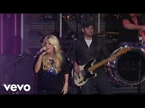 Carrie Underwood - Last Name (Live on Letterman)