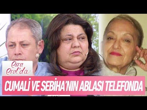 Cumali ile Sebiha'nın ablası telefon bağlantısında - Esra Erol'da 1 Ocak 2018
