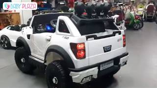 Xe hơi điện trẻ em Ford Raptor BBH-1388 Baby Plaza