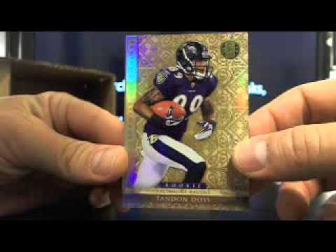 Ultimateboxbreaks.com: 2011 Gold Standard Football Box Break 3  5/16/13