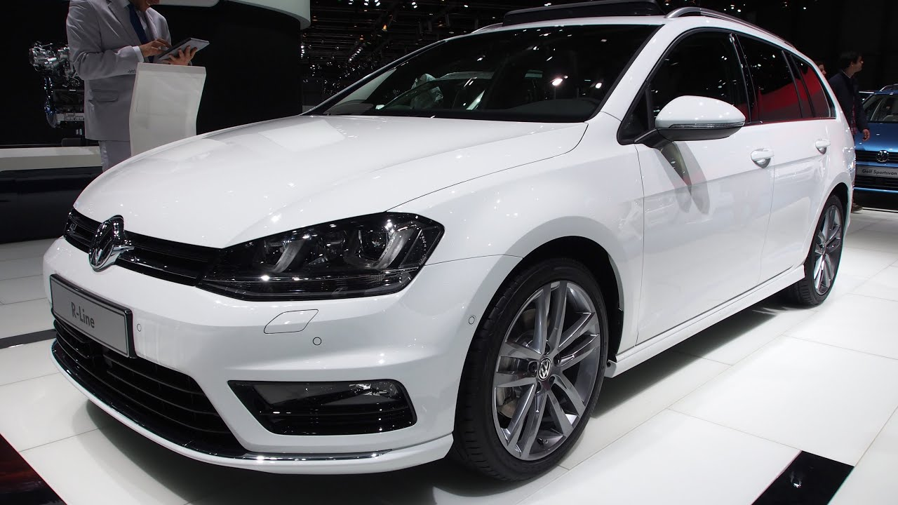 2014 volkswagen golf variant r line exterior and. Black Bedroom Furniture Sets. Home Design Ideas