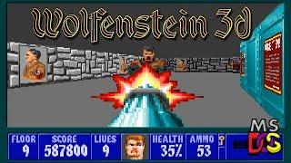 Wolfenstein 3D DOS Longplay