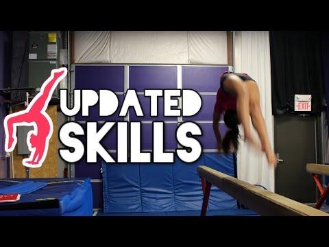 Updated Gymnastics Skills