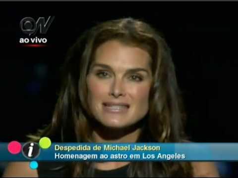 Brooke Shields - Despedida a Michael Jackson [Tradução]