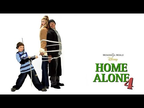 Stupid Movie Of The Week! Home Alone 4 (2002) Movie Review/EPIC RANT By JWU