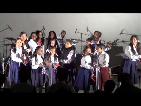 PRAYAS kids performing at Musical Extravaganza13
