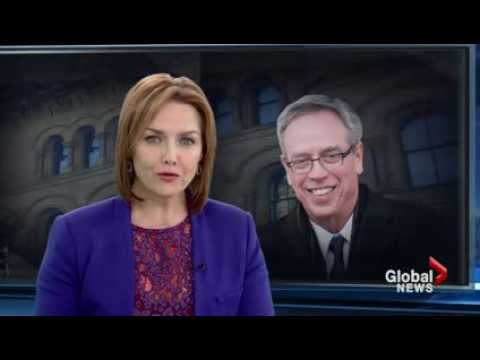 Joe Oliver sworn in as finance minister