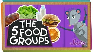 The 5 Fabulous Food Groups