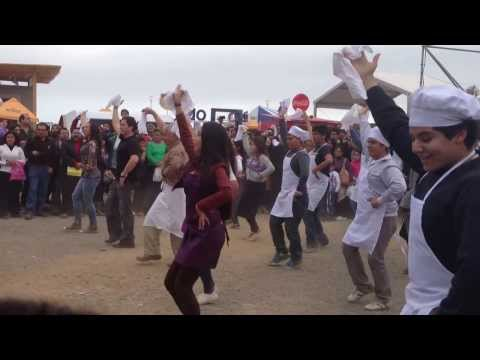 Flash Mob de Marinera en Mistura 2013