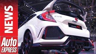 Mega-winged 316bhp Honda Civic Type R blasts in!