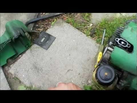 john deer weed eater repair
