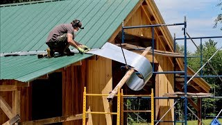 Oh SNAP! These Tricks SAVED me 3 DAYS worth of WORK! (1 Man Builds a Post & Beam Barn)
